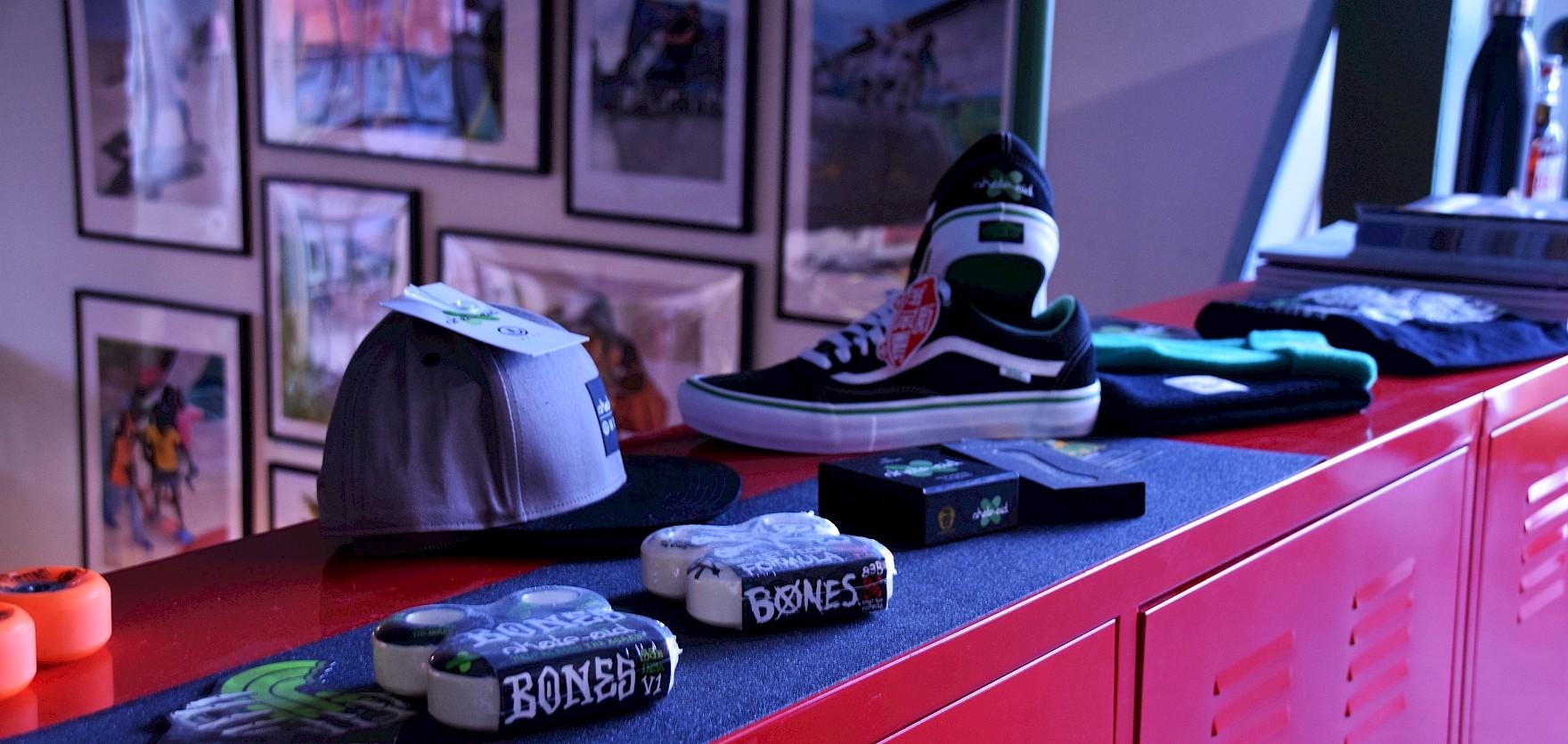 skate-aid Kollabo Produkte
