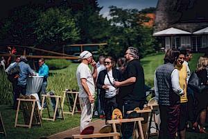 Garten, Kunst und gute Gespräche skate-aid-matinee 2021 Credit: Einblick Fotografie